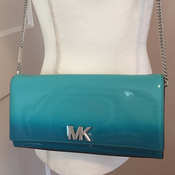 b8b126bceec5 MICHAEL Michael Kors Bags | Michael Kors Mott Crossbody Clutch Tile ...